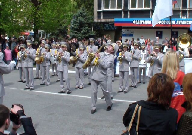 Lugansk.1 May, 2015