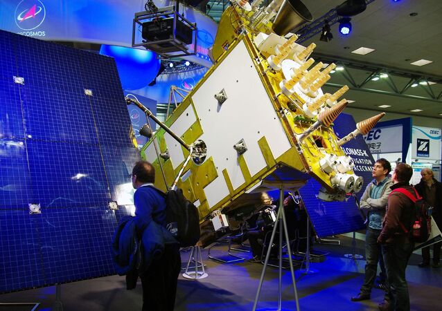 Russian Navigation Spacecraft Glonass K1