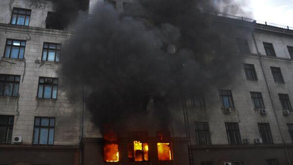 Riots in Odessa - Sputnik International