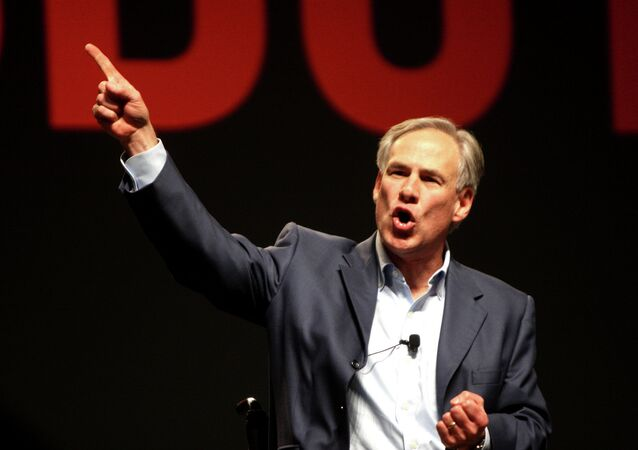 Texas Attorney General Greg Abbott speaking at FreePac, hosted by FreedomWorks, in Phoenix, Arizona.