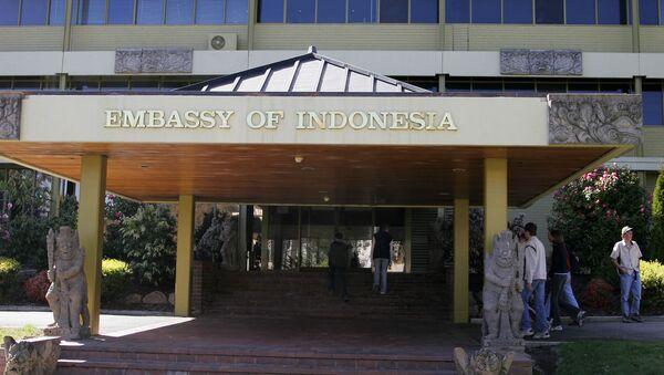 The Indonesian Embassy in Canberra, the Australian capital - Sputnik International