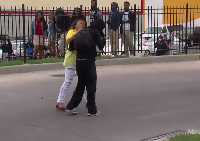 Baltimore mom slaps and scolds rioting son in front of everyone