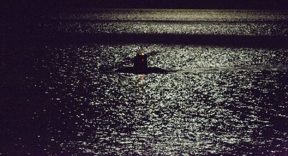 Unidentified submarine was spotted near Finland