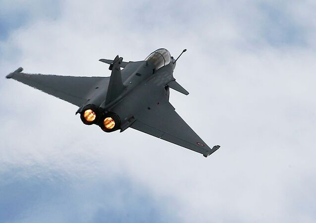 A Rafale fighter jet