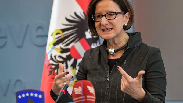 Austrian Interior minister Johanna Mikl-Leitner - Sputnik International