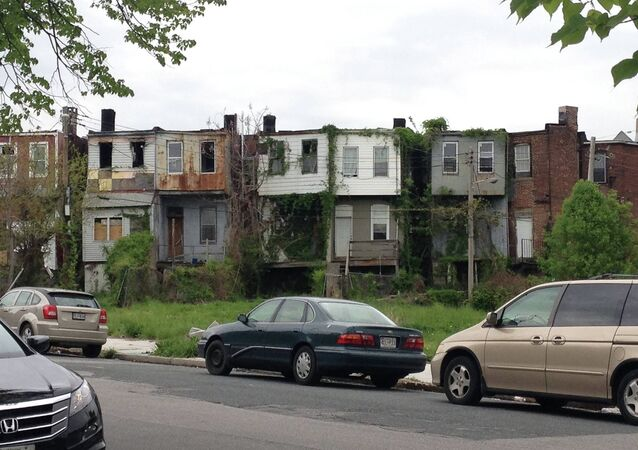 The Sandtown-Winchester neighborhood in Baltimore, where the life expectancy rate is only marginally above that of Syria.