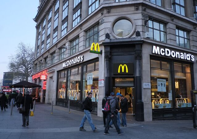 McDonald's at Leicester Square, London