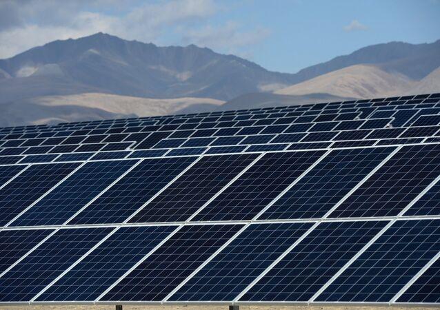 Kosh-Agachskaya solar power plant