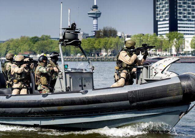 40-year partnership of the UK/NL Amphibious Force, British and Dutch Marines