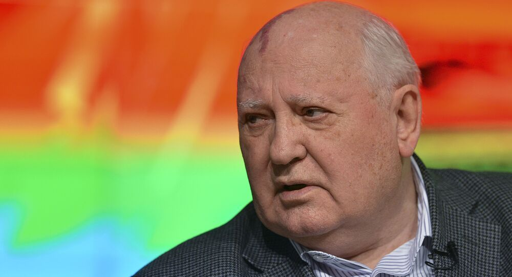 First president of the USSR Mikhail Gorbachev