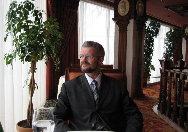 Urban Rusnak, a slovak academic, diplomat and currently the General Secretary of the Energy Charter Secretariat