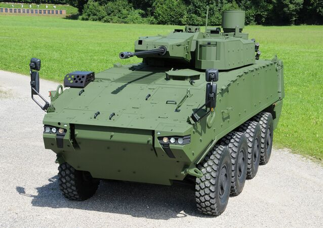 PIRANHA 5 armored vehicle