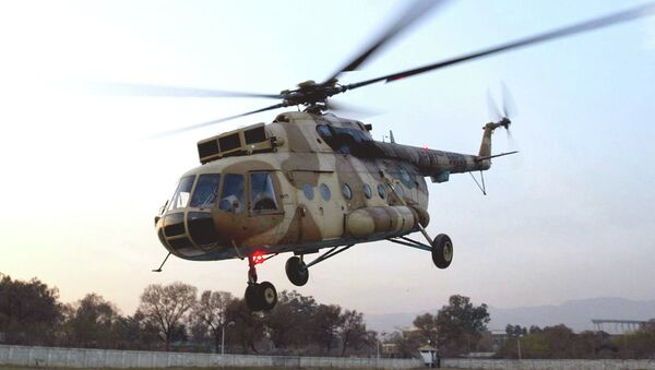 This undated photo shows a Russian-made MI-17 Pakistan Army helicopter landing in Islamabad, Pakistan - Sputnik International