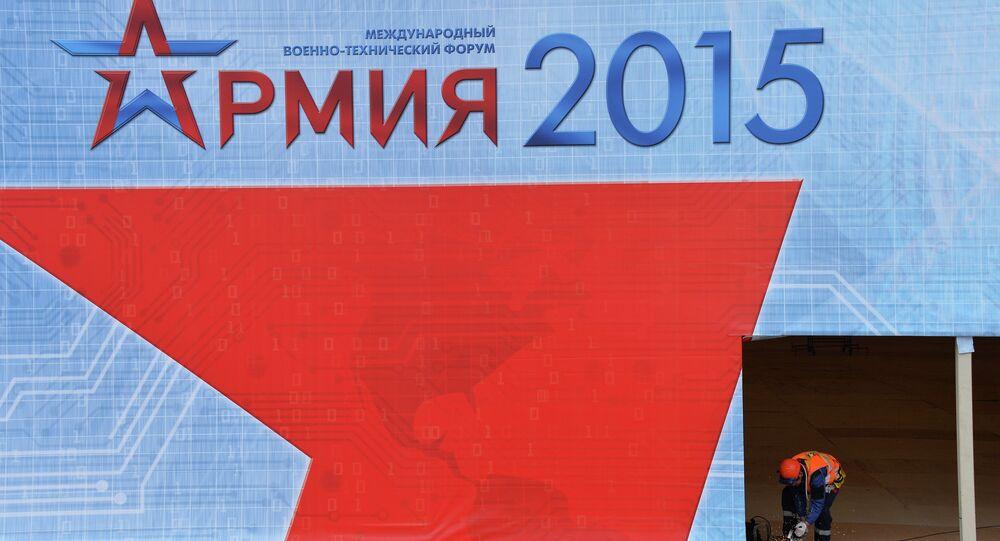 Patriot Park under construction to host Army 2015 Forum
