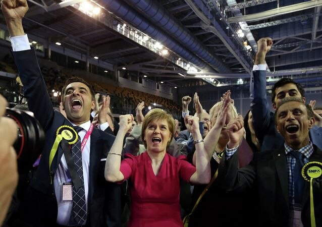 First Minister of Scotland and Scottish National Party leader Nicola Sturgeon