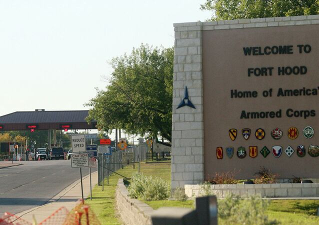 The Pentagon has raised the security status of military bases across the country.