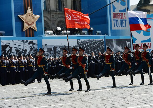 Military parade in commemoration of the 70 anniversary of the Victory in the Great Patriotic War of 1941-1945