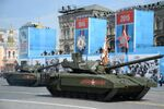 A tank with the Armata Universal Combat Platform at the military parade to mark the 70th anniversary of Victory in the 1941-1945 Great Patriotic War