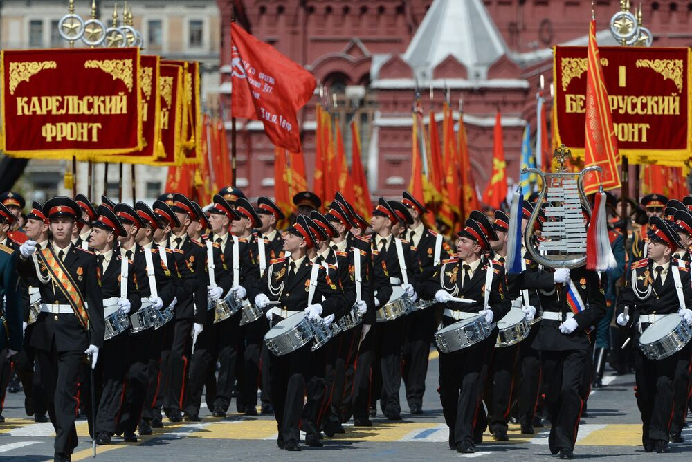 Celebrating WWII Victory in Moscow: Now and Then