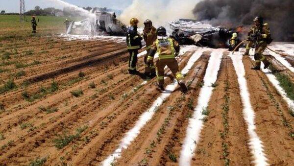 Plane crash near Seville, Spain - Sputnik International