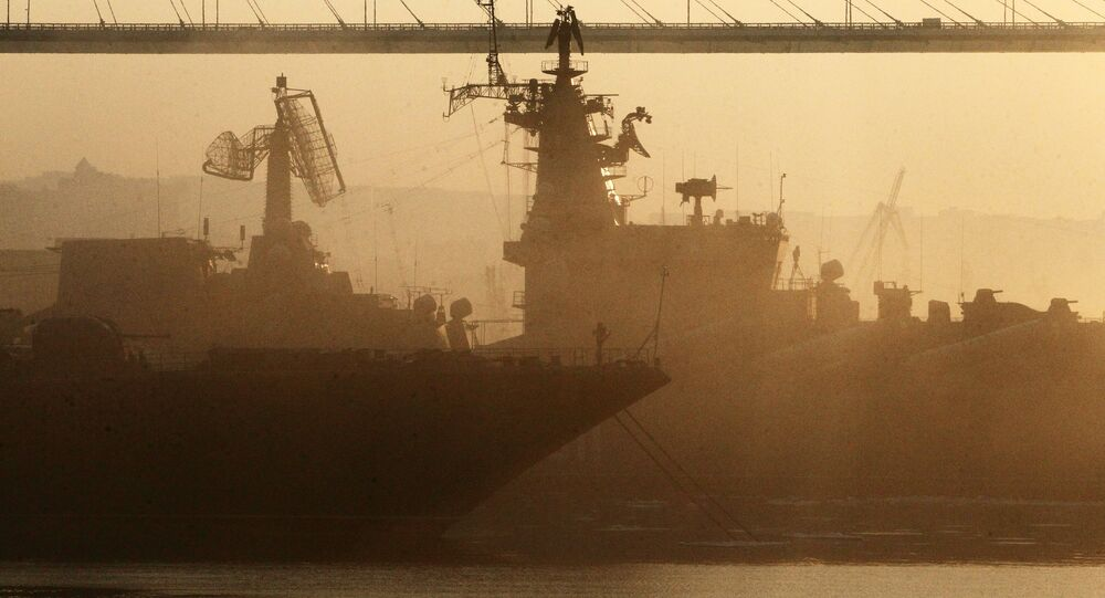 Russian cities. Vladivostok