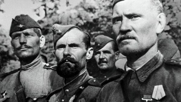 Red Army soldiers - Sputnik International