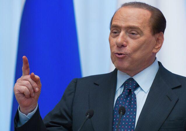 Russian President Dmitry Medvedev, Italian Prime Minister Silvio Berlusconi