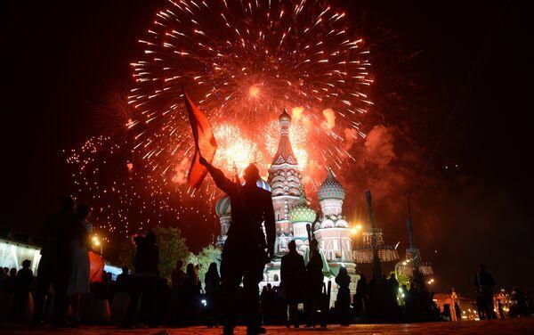Fireworks to mark 70th anniversary of Victory in 1941-1945 Great Patriotic War - Sputnik International