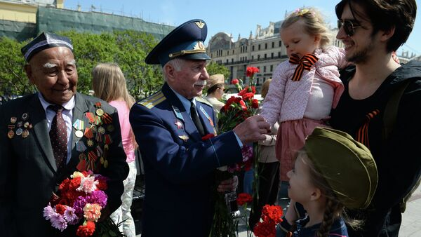 Celebration of Victory Day in Moscow - Sputnik International