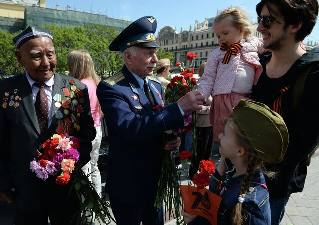 Celebration of Victory Day in Moscow