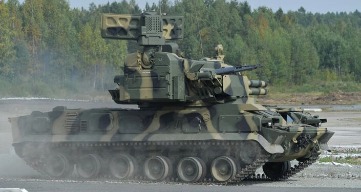 Tunguska self-propelled anti-aircraft weapon is set to be gradually replaced by Pantsir S1 air defence system