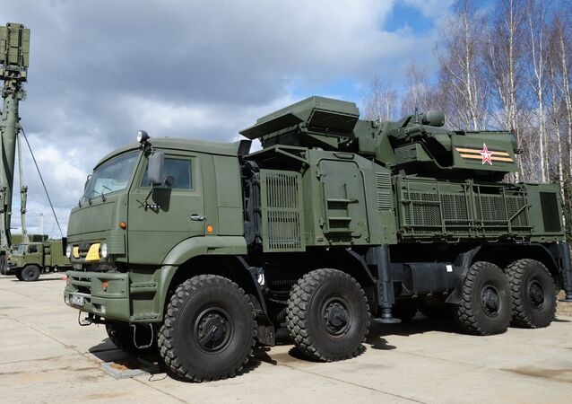 Russian Pantsir S1 air defense system