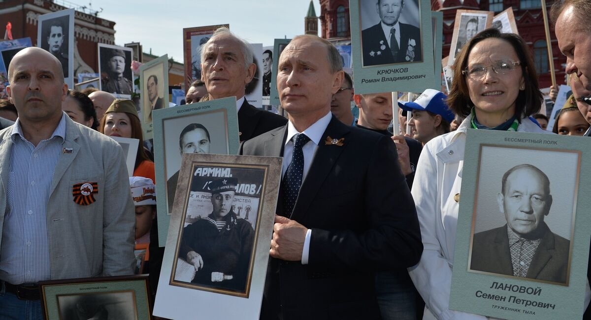 President Putin Tells The Story Of How His Father Volunteered For Wwii Sputnik International