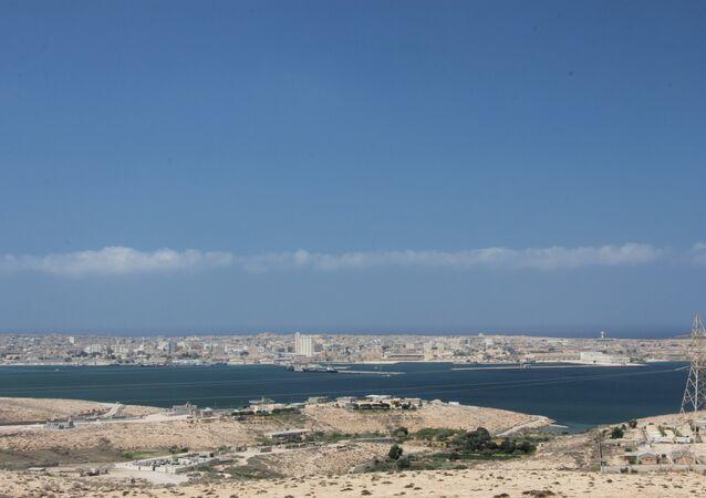 Tobruk port, Libya