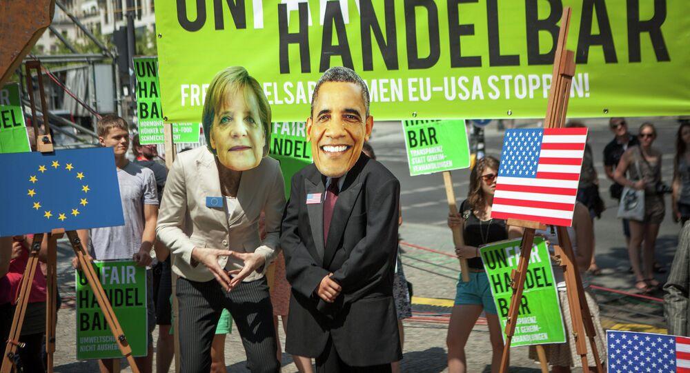 Anti-TTIP demo