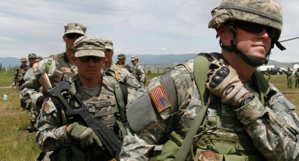 US military instructors in Georgia