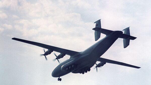An Antonov An-22 strategic airlifter - Sputnik International
