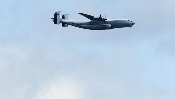 Russian Antonov An-22 Antei aircraft - Sputnik International