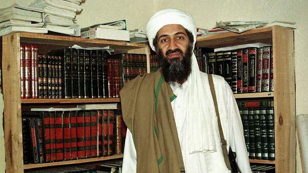 Al Qaida leader Osama bin Laden is seen in Afghanistan. (File) - Sputnik International
