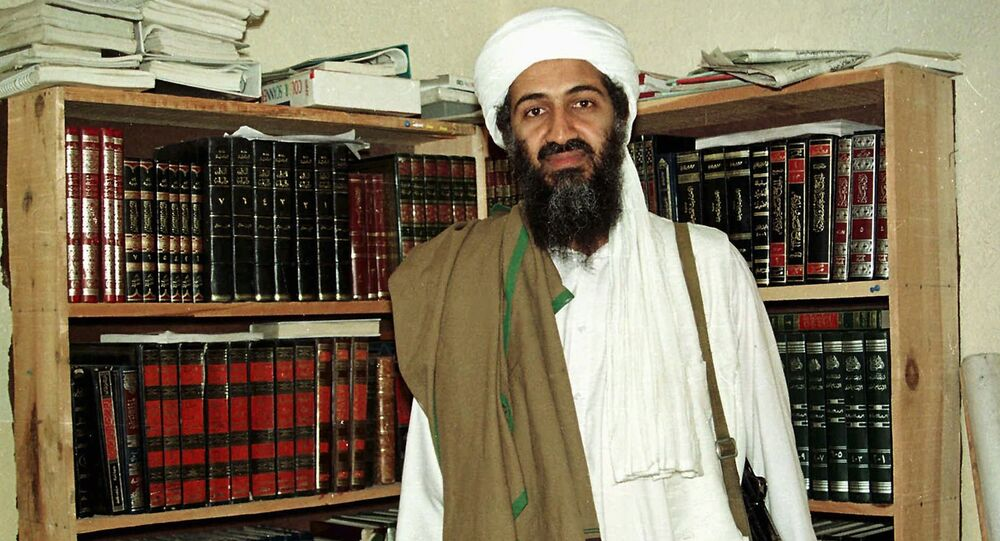 Al Qaida leader Osama bin Laden is seen in Afghanistan. (File)