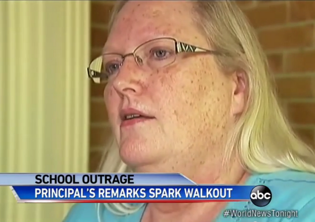 One Lilburn, Georgia principal's comments were so vile that they caused a mass walkout during a high school graduation ceremony.