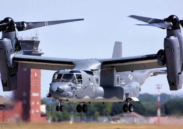 CV-22 Osprey - RAF Mildenhall