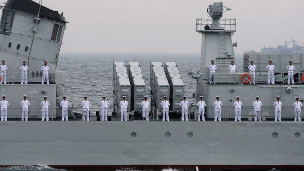 Officers of Chinese Naval Forces - Sputnik International