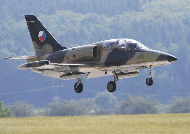 Czech subsonic combat aircraft L-159 ALCA