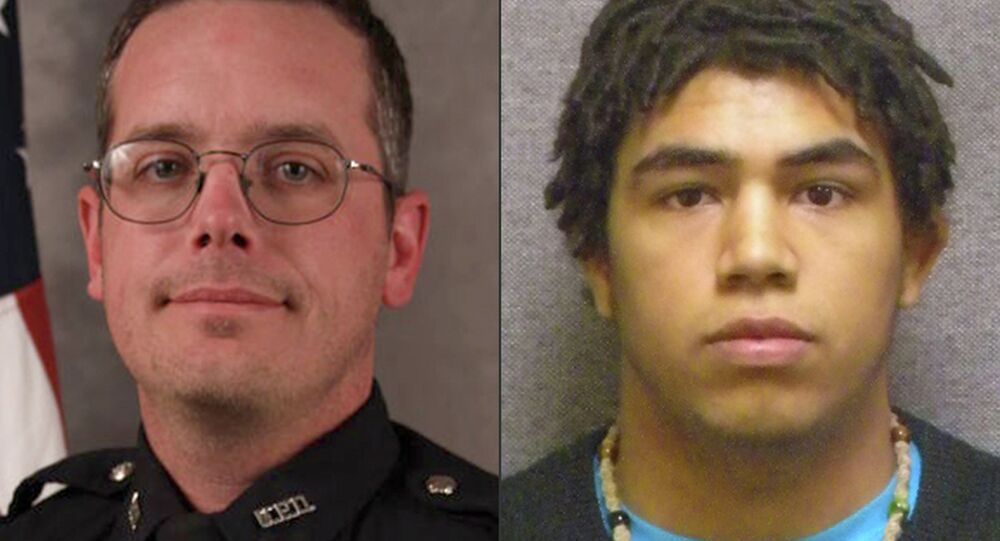 Prosecutors in Wisconsin announced Tuesday that they will not press charges against the white Madison police officer who shot and killed a biracial teenager, Tony Robinson, in March.