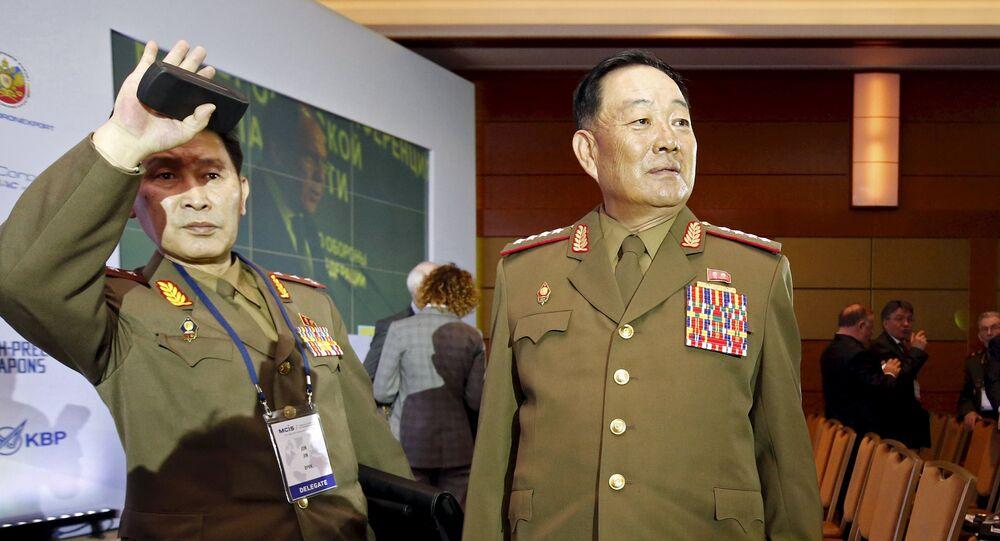Senior North Korean military officer Hyon Yong Chol
