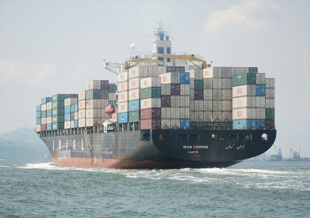 Iranian cargo ship