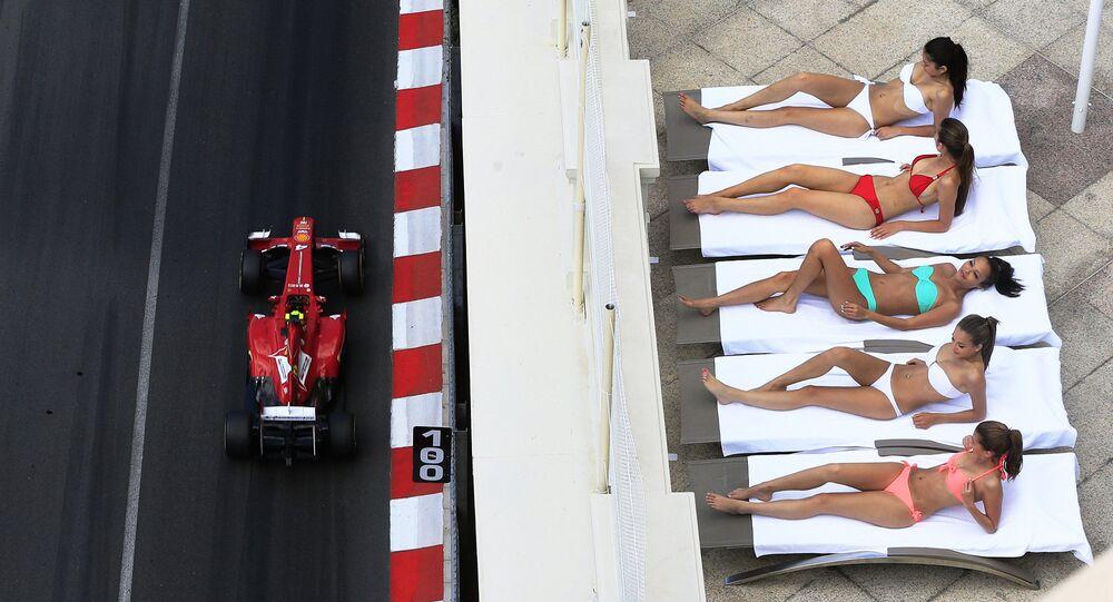 The Monaco Formula One Grand Prix
