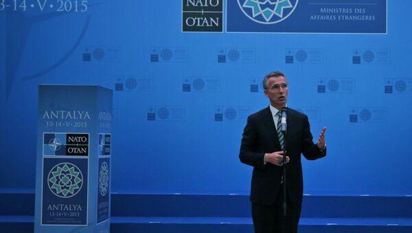 Secretary General of NATO Jens Stoltenberg - Sputnik International