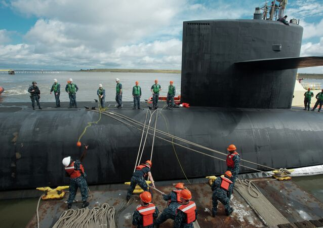 Ohio-class ballistic missile submarine USS Tennessee (SSBN 734)